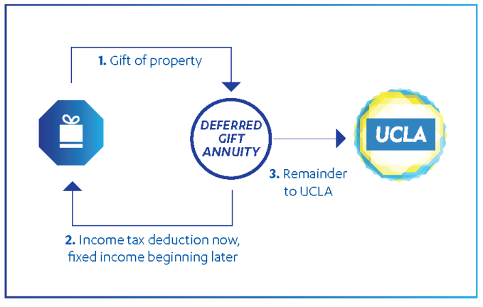After the beneficiary's (annuitant's) lifetime, the remainder of your gift is distributed to UCLA for the purpose you designated.